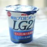 【作り方:ヨーグルト】LG21、おいしい牛乳編