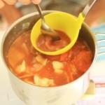 【レシピ:塩麹】「アウトドアクッキング其の三」<br>残りもののポトフで作る野菜たっぷり豚汁♪
