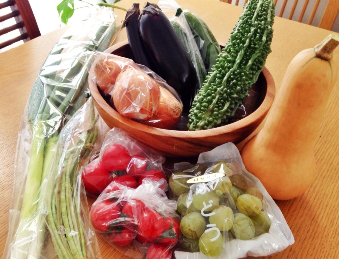 野菜と果物たくさん