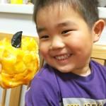 【レシピ:ヨーグルト】そうだ、今日はハロウィン!ジャックランタンをかぼちゃで作ろう♪