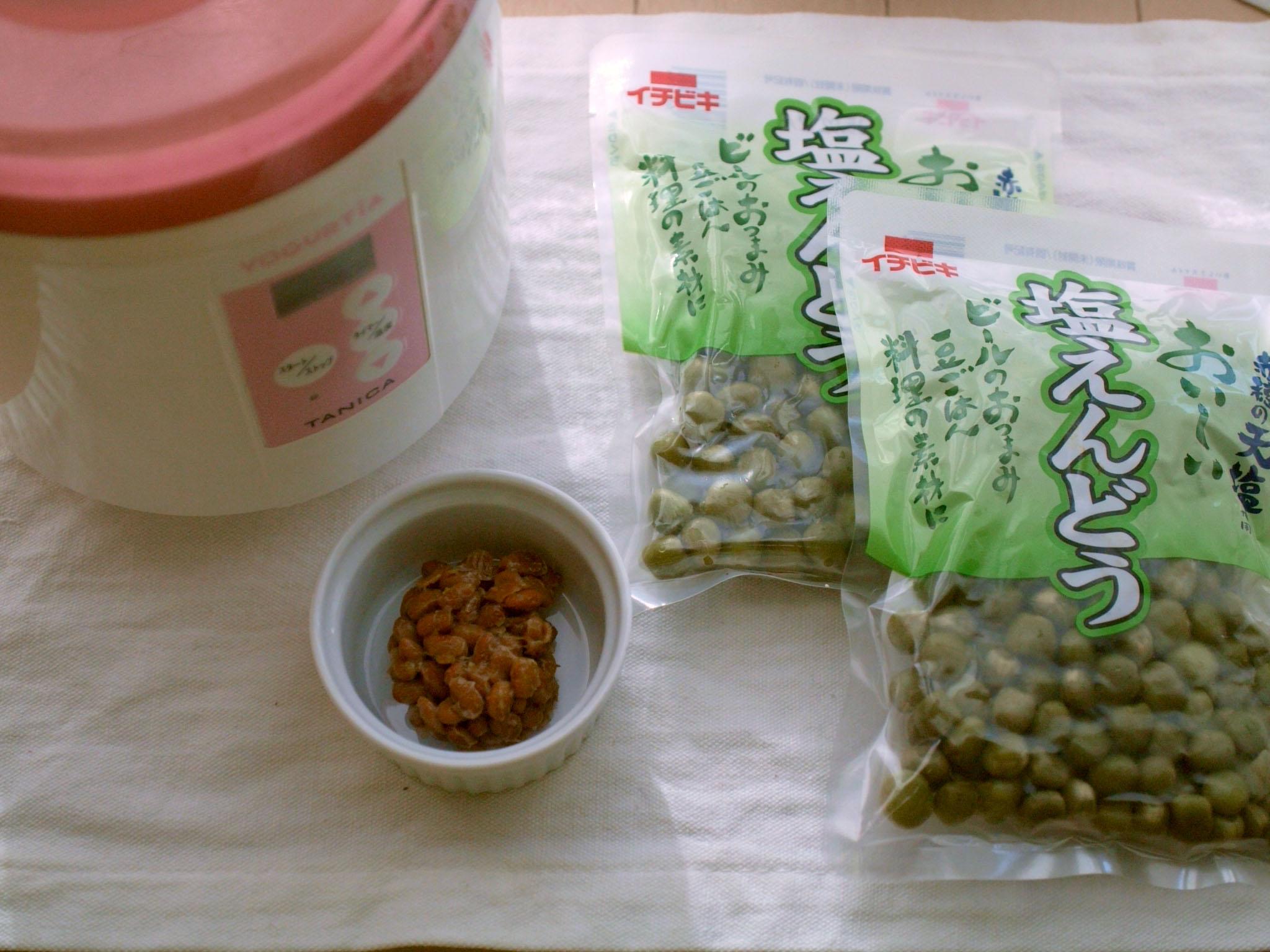 納豆(えんどう豆)