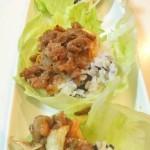 【レシピ:納豆】納豆・キムチの発酵コンビとプルコギの旨味がマッチして最強トリオに!!「プルコギ&納豆&キムチのレタス包みご飯」