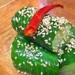 【レシピ:塩麹】噛むたびにきゅうりのいい音とタレの旨味が口いっぱいに広がります(≧∇≦)「じゃばらきゅうりのあっさり漬け」