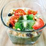 【レシピ:ヨーグルト】美味しく飲んでダイエットや美肌にも効果的♫「ヨーグルトグリーンスムージー」