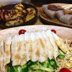 【レシピ:塩麹】「自家製塩麹チキンのバンバンジー」しっとりジューシーチキンとシャキシャキ野菜が堪らなーーーい(≧∀≦)