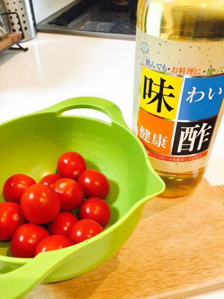 「酢トマト」