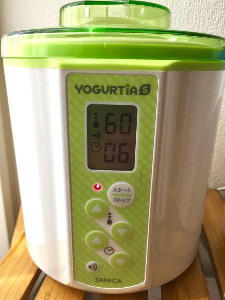 温度60度、時間6Hにセット