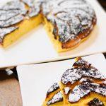 【レシピ:ヨーグルト】「梨のタルトタタン」火を通して甘みが増した梨と、ヨーグルト効果でもっちりふんわり生地の口当たり(*´ω`*)