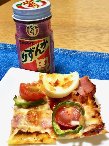 ピザの辛味