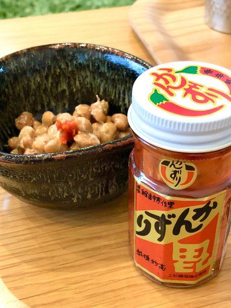 納豆の辛味