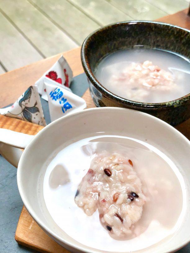 古代米豆乳甘酒