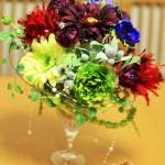 花からランチ、デザートへ♪