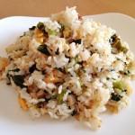 【レシピ:塩麹】レタスとセロリの塩麹ふりかけ♪