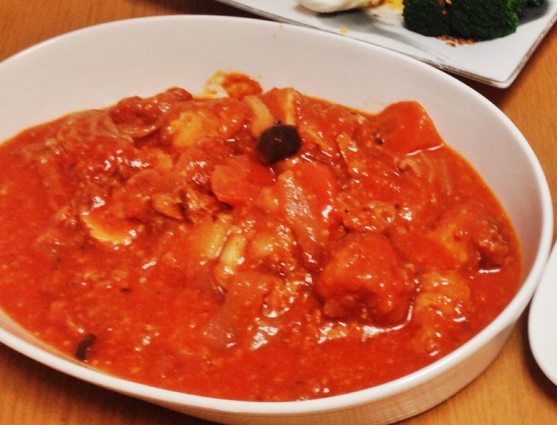 トマト麹の煮込み