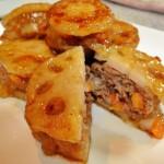 【レシピ:塩麹】シャキシャキ食感がたまらない!「蓮根ハンバーグ」
