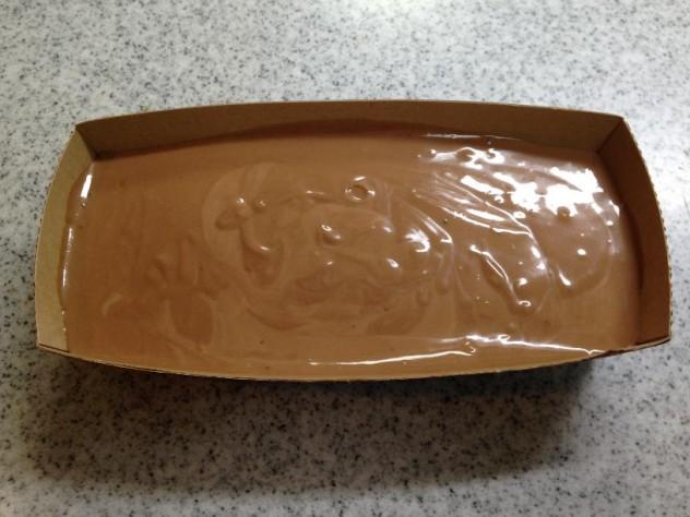 チョコヨーグルトケーキ型入れ