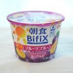 【作り方:ヨーグルト】BifiX(フルーツプルーン味)、おいしい牛乳編