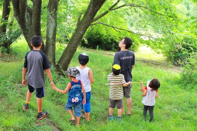 子供たち公園にて