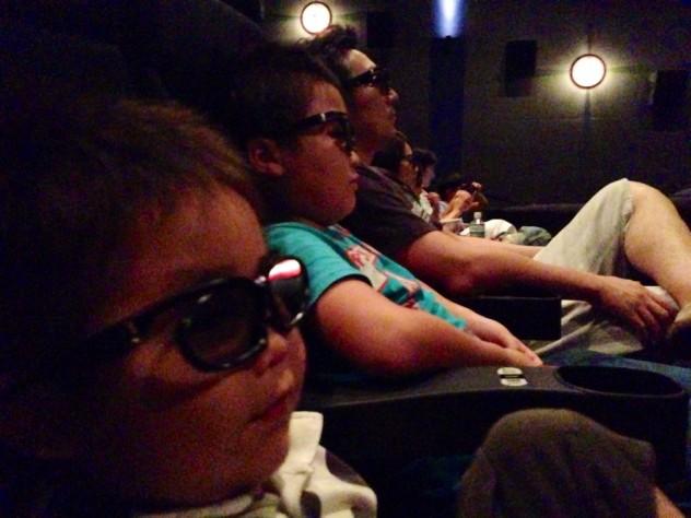 家族で映画