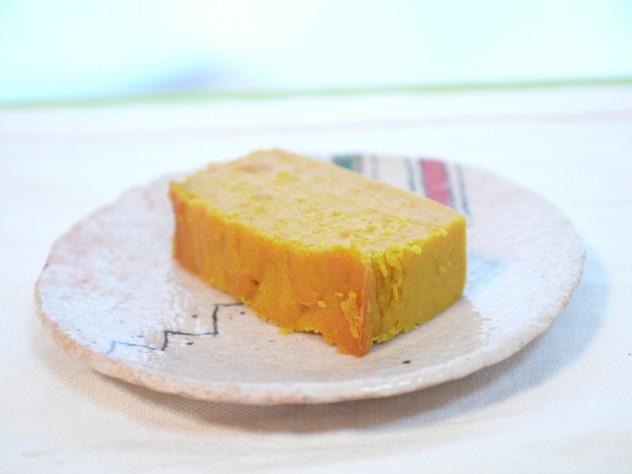 発酵バター使用かぼちゃケーキの完成