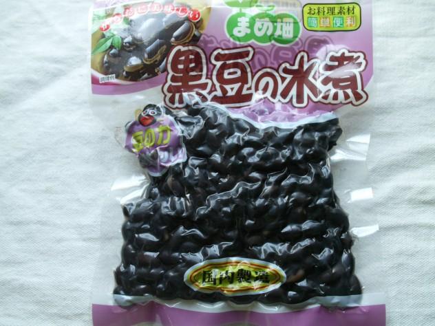 黒豆の水煮
