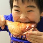 【レシピ:塩麹】表面はパリッと中はジューシ〜♫「超簡単ローストチキン」!
