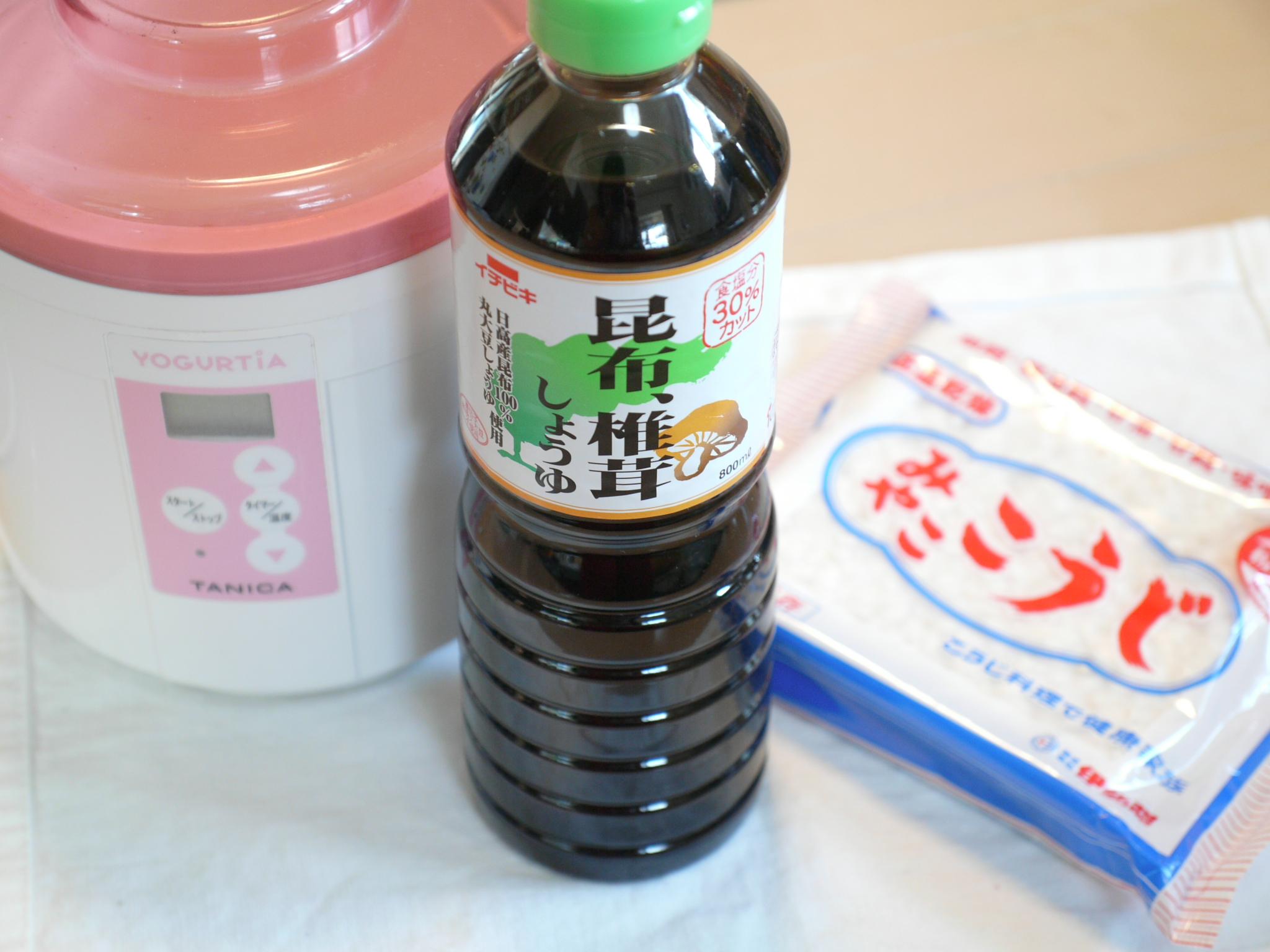 醤油麹昆布椎茸醤油