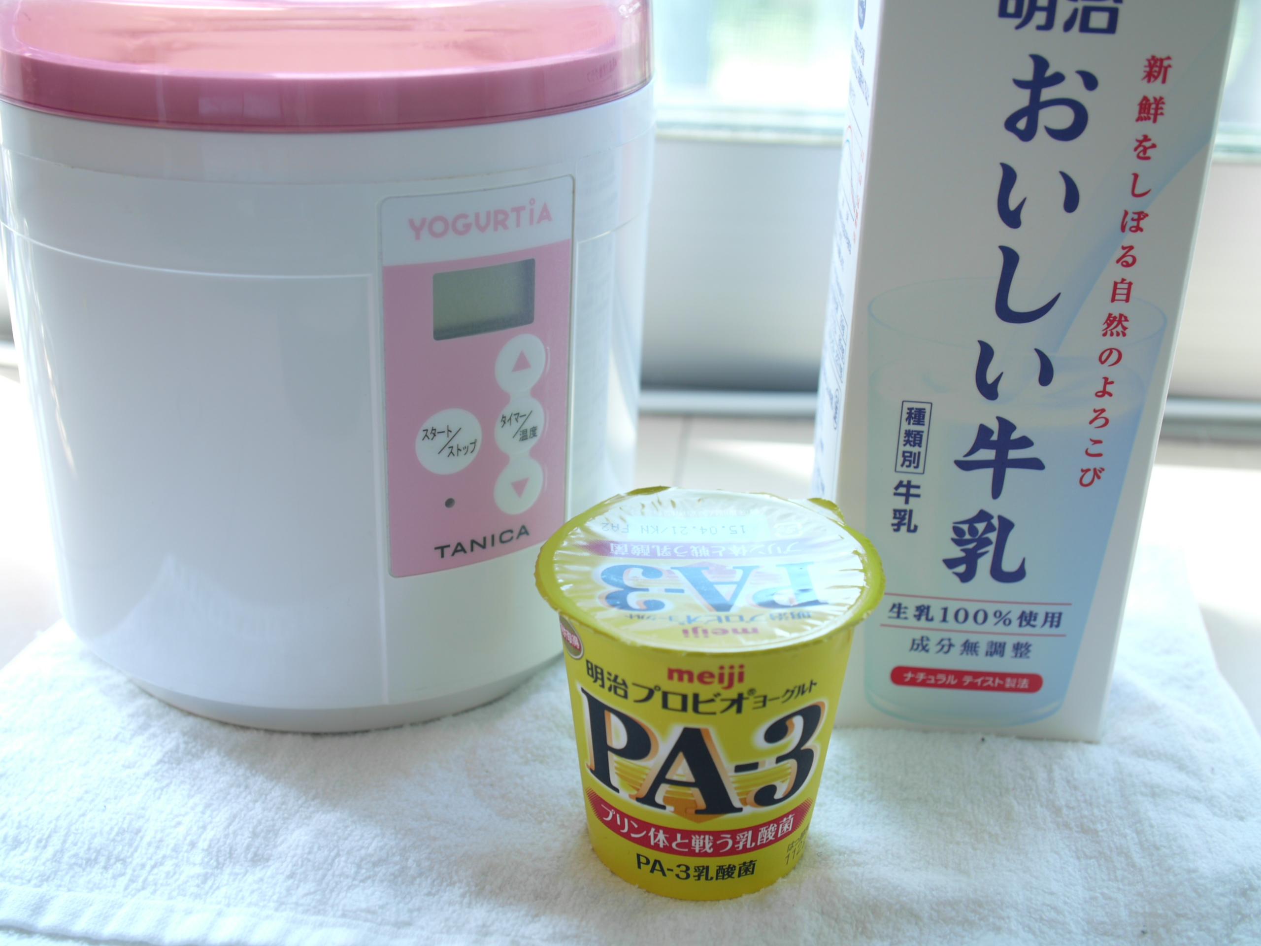 PA-3とおいしい牛乳
