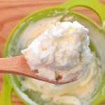 【レシピ:ヨーグルト】濃厚な生クリームの香りと優しい甘さが広がる(*゚▽゚*)手作り「マスカルポーネ」♪