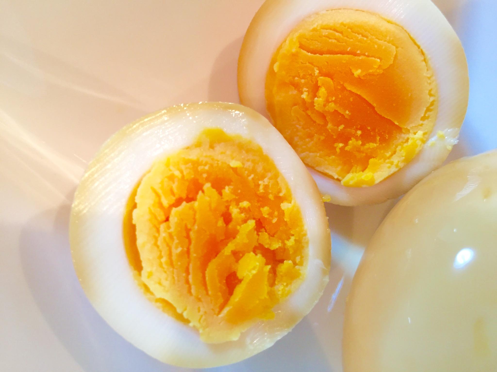 酢醤油漬け卵完成