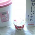 【作り方:ヨーグルト】カナディアンメープルヨーグルト×おいしい牛乳編