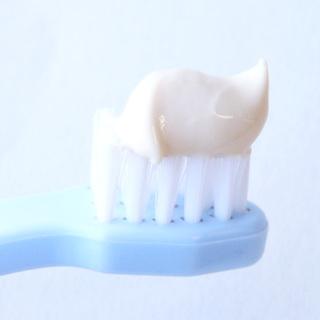 ヨーグルト歯磨き