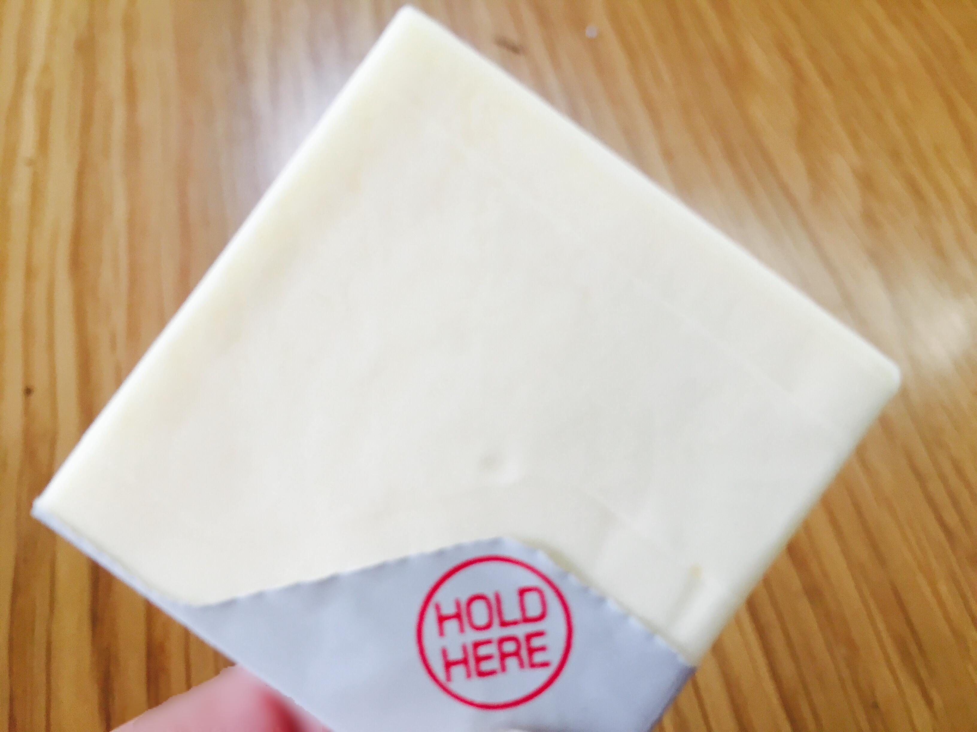 凍らせたクリームチーズ