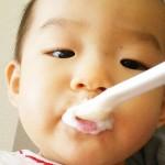 【食レポ?:ヨーグルト】離乳食チャレンジ さつまいもヨーグルト