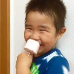 【レシピ:ヨーグルト】ヨーグルトの栄養をそのまま取れてカロリーも控えめ🎶暑い夏におすすめ(^ ^)「刺すだけヨーグルトアイス」