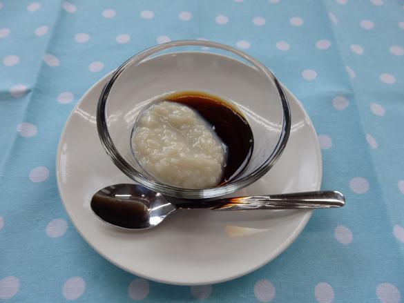 甘酒コーヒーゼリー