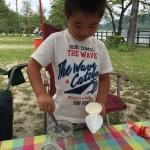 手間暇かけて出来上がった時は感動モノ(≧∇≦)キャンプ場で「手作りヨーグルト作り」に挑戦!!