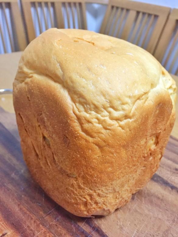メープルシロップ食パン完成