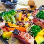 おもてなしにピッタリ☆「スキレットで野菜とベーコンの塩麹グリル」