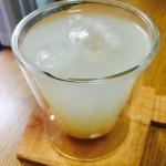 【食レポ:甘酒】甘さ控えめで、さっぱりとして飲みやすい( ^ω^ )酒粕の甘酒