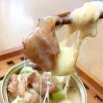 ネギの香ばしさ、タレとチーズに絡まった焼き鳥は、そのまま食べるよりも一段と美味しいっ☆*:.。. o(≧▽≦)o .。.:*☆災害時にも美味しく食べられる「焼き鳥缶」アレンジレシピ