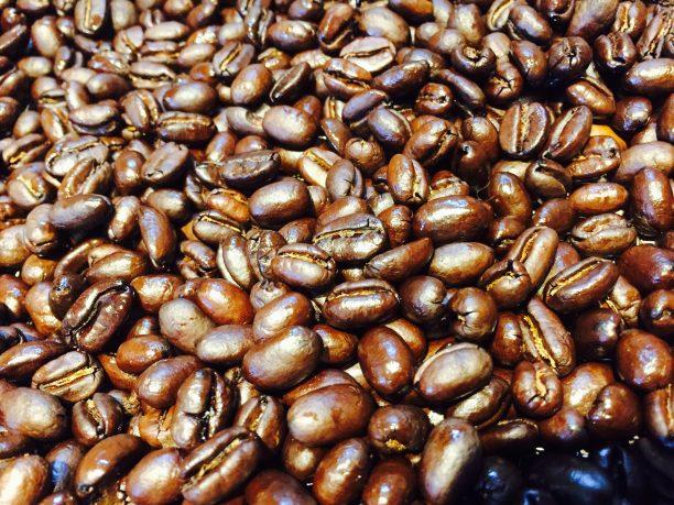 コーヒー豆完成