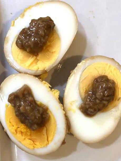 卵の醤油こうじ漬け完成