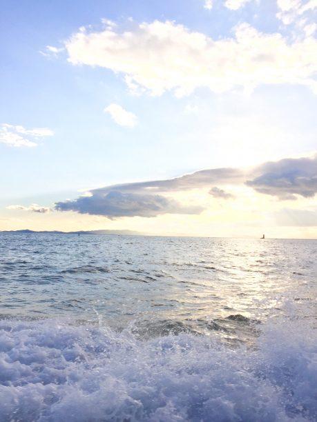 船上からの風景