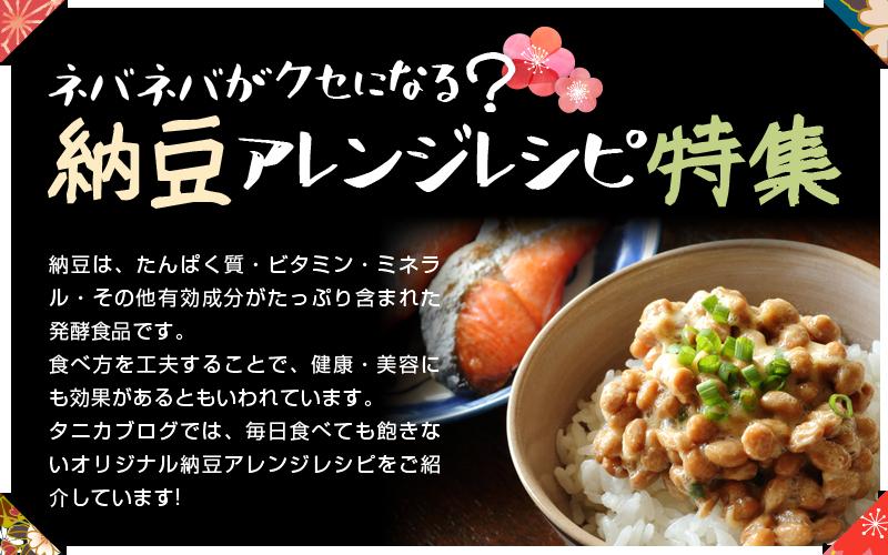 納豆アレンジレシピ特集