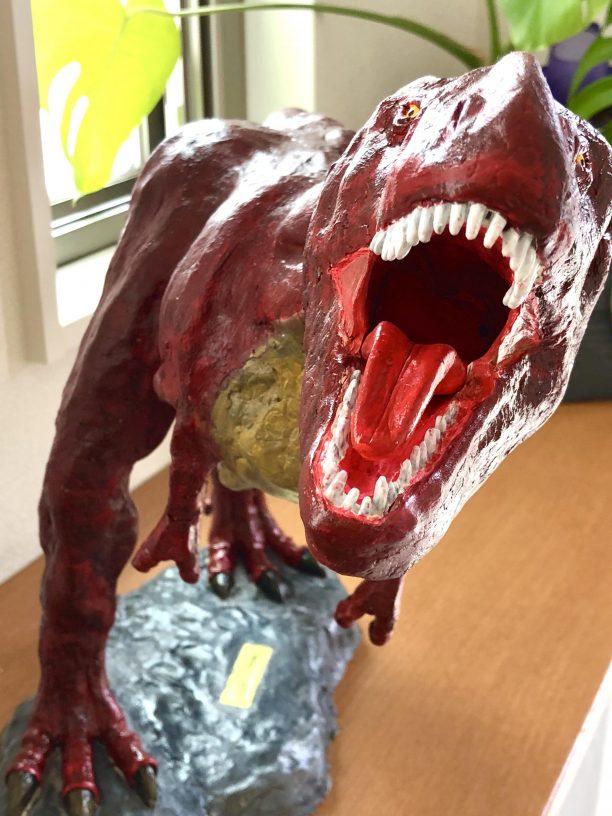 ティラノサウルス完成