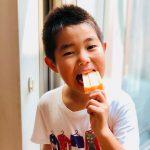 【レシピ:ヨーグルト】「桃ヨーグルトアイスキャンディー」ヨーグルトの酸味と、桃の甘さが絶妙!!子どもだけでなく、大人にこそおススメなアイスです(^_−)−☆