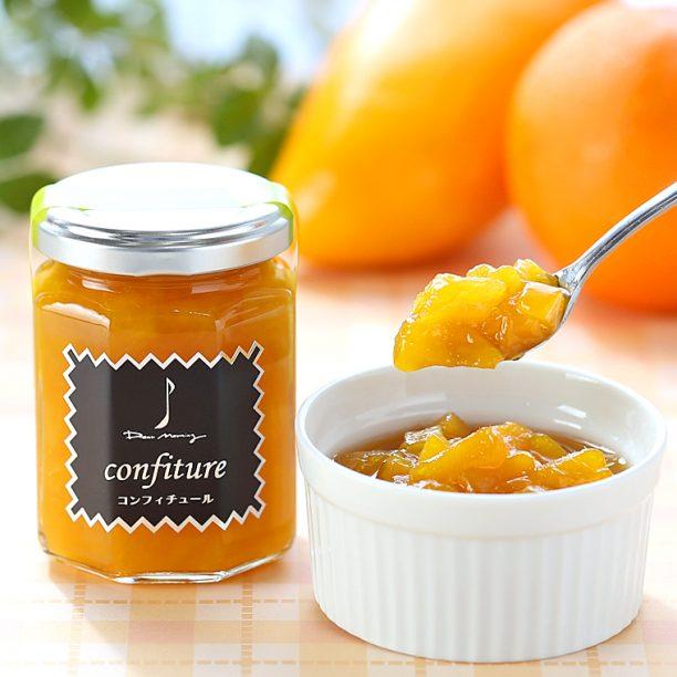 マンゴーとオレンジのコンフィチュール