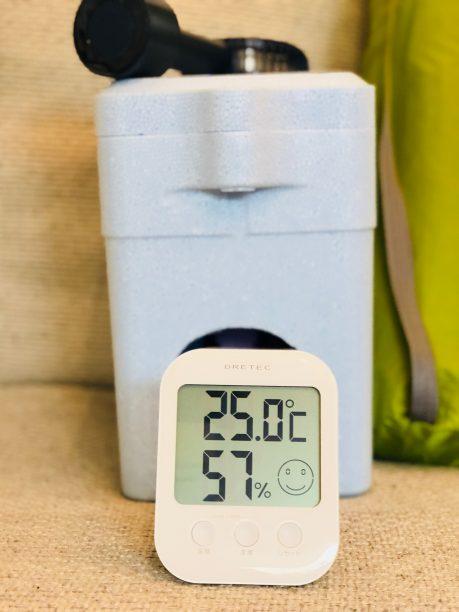 エコクーラーの温度