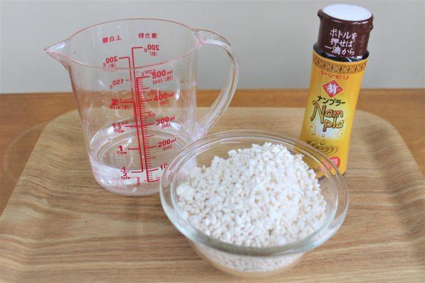 ナンプラー麹の材料